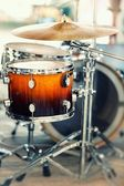 Tambours et des cymbales — Photo