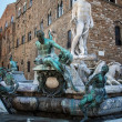 Fountain of Neptune in Florence - Italy — Stock Photo