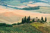 Paysage de Toscane - Belvédère — Photo