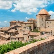 "Small town ""Volterra"" — Stock Photo"