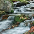 Mountain stream in autumn — Stok fotoğraf
