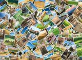 来自托斯卡纳的很多照片 — 图库照片