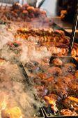 Carne alla griglia — Foto Stock