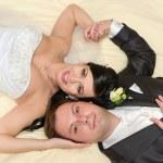 pareja joven hermosa — Foto de Stock   #22012335
