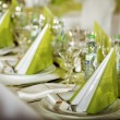 Foto Stock: Festive table setting