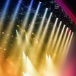 Stage lights  — Stock Photo
