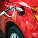 Autogas - LPG pump — Stock Photo