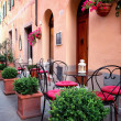 Stock Photo: Small cafe in Tuscany, Italy