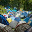 Many tents in nature — Stock Photo #31002819