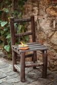 Wooden chair — Stockfoto