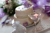 传统婚礼蛋糕 — 图库照片