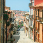 City of Vibo Valentia — Stock Photo #35121369