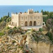 The south Italy, area Calabria, church of Tropea city — Stock Photo