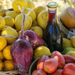 Home products grown in southern Italy — Stock Photo