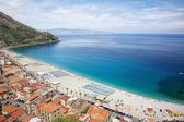 Beautiful beach in Scilla, southern Italy, Calabria region — Stock Photo