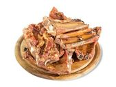 Smoked pork bone — Stock Photo