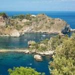 Coastline Taormina, Sicily, Italy — Stock Photo
