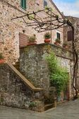 Picturesque nook of Tuscany — Stock Photo