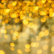 Christmas gold light — Stock Photo