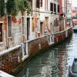 Deatil old architecture in Venice — Stock Photo