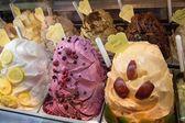 Ice cream trays — Stock Photo