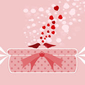 Gift of Valentine's day — Stock Vector