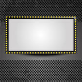 Movie screen — Stock Vector