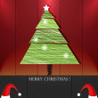 Xmas trees — Stock Vector #34758719