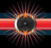 Abstrait disco — Vecteur