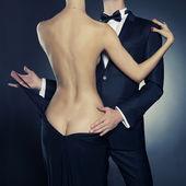 Couple sensuel — Photo