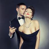 Coppia sensuale — Foto Stock