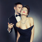 Sensual couple — Foto Stock