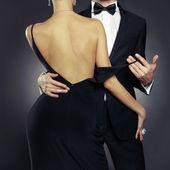 Casal sensual — Foto Stock