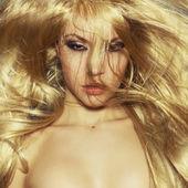 Luxury blonde — Stock Photo