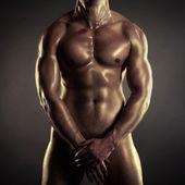 裸のアスリート — ストック写真