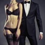 sensuell par — Stockfoto