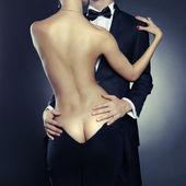 Sensual couple — Foto de Stock