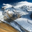 Monte Rosa and Lyskamm — Stock Photo