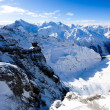 Mountain panorama from Titlis — Stock Photo