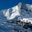 Taeschorn mountain peak with Laengflueh in winter — Stock Photo #19009679