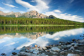 Patricia Lake, Jasper national park — Stock Photo