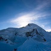Allalinhorn berggipfel — Stockfoto