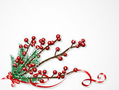 рождество ягоды — Cтоковый вектор