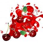 Постер, плакат: Cherry juice