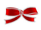 Diamond ribbon — Stock Vector