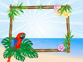 Papuga — Wektor stockowy