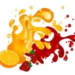 Fruit juice — Stock Vector #26810429