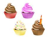 Cupcakes — Stok Vektör