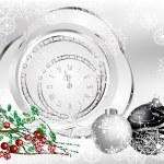 Black christmas — Stock Vector