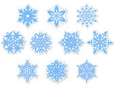 Snowflakes — Vector de stock